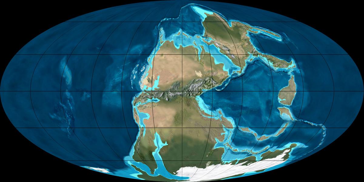 Через 250 млн лет Земля существенно поменяется — Ученые